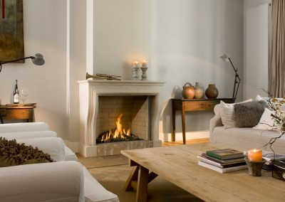 Foto: Brunner - Stil-Kamin Gas 67/80 Ambiente in beige