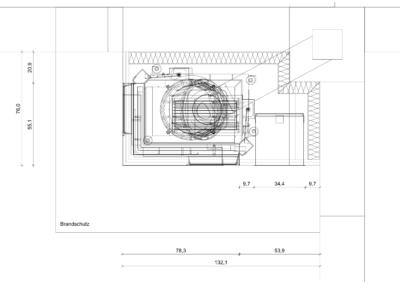 Eckkamin | Detailzeichnung